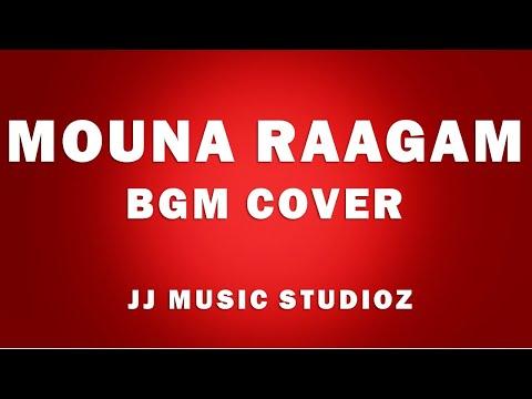 Mouna Raagam(Theme) | BGM | PIANO cover | Aparajit | | JJ Music Studioz