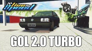 Gol Quadrado Turbo 2.0 fluxo cruzado no LFS