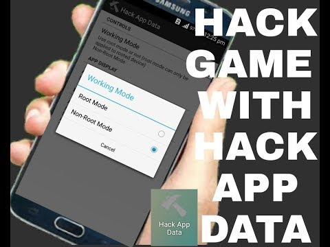How to hack any games with hack app data.no root