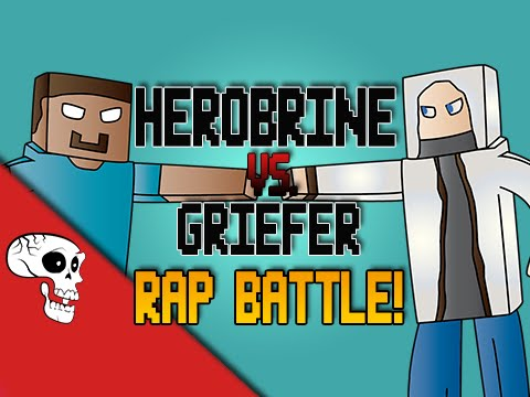 Herobrine vs Griefer RAP BATTLE! by JT Music