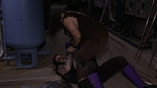 The Undertaker vs. Mankind - Boiler Room Brawl Match