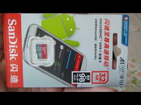 Карта памяти Sandisk Micro SD 32 ГБ / 32GB Sandisk Micro SD Memory Card
