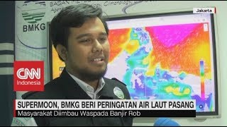 Download Video Supermoon, BMKG Beri Peringatan Air Laut Pasang MP3 3GP MP4