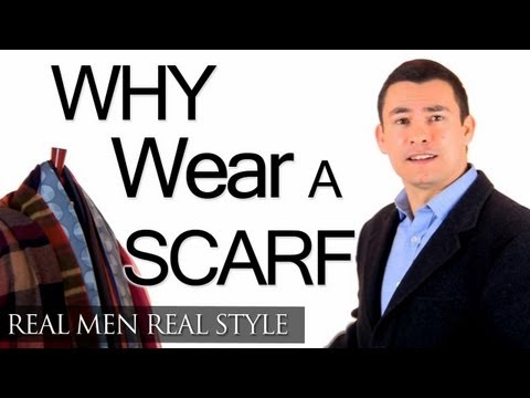 Why A Man Should Wear A Scarf – Function & Fashion – Scarves Style & Warmth Protection