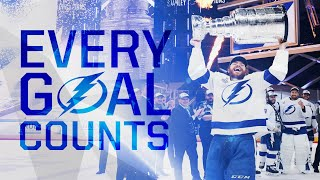 Watch every Lightning postseason goal on their journey to become the 2020 Stanley Cup champions