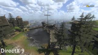 Mount and Blade Warband: DirectX 7 Vs DirectX9