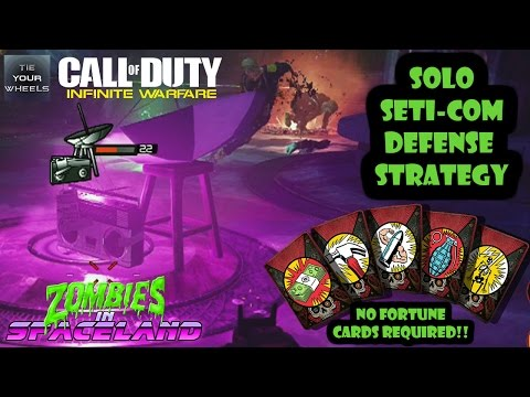 Solo Seti-Com Defense Strategy Zombies In Spaceland