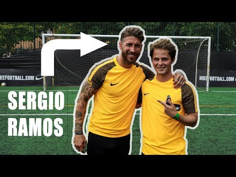 Mit SERGIO RAMOS in MADRID KICKEN !!!