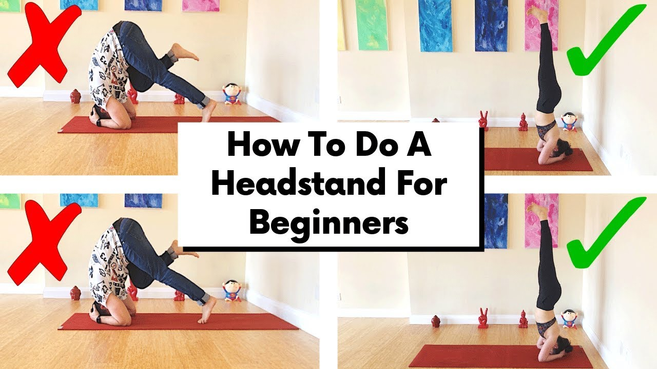 Yoga Headstand Tutorial For Beginners