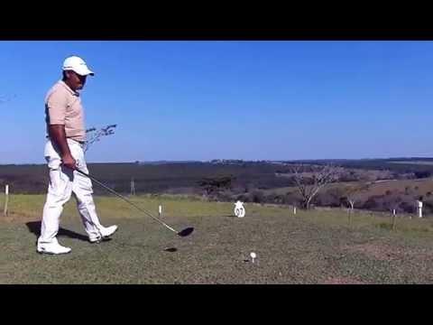 Vanderlei Soto demonstrando Swing de Golf (Aulas de Golf Bauru e Região)