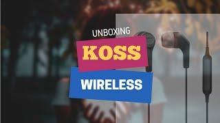 Koss BT115i Wireless Bluetooth Unboxing
