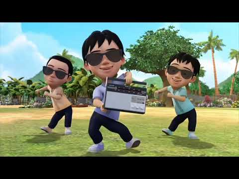 Download Upin Ipin Bernyanyi Bersama
