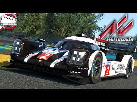 ASSETTO CORSA - Porsche 919 Hybrid @ Le Mans - Let's Play Assetto Corsa