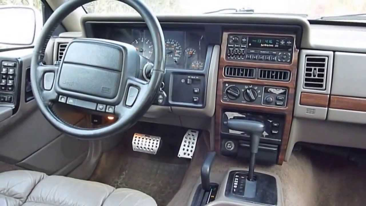 Delightful Jeep Grand Cherokee 5.2 LTD 1995   YouTube