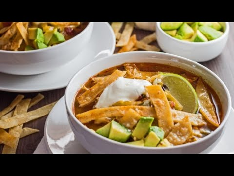 Chicken Tortilla Soup Recipe 2020
