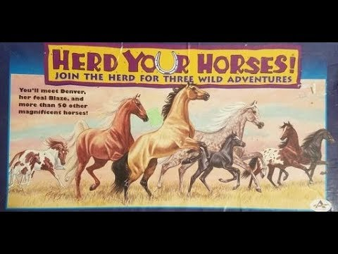 Herd Your Horses Board Game (1997, Aristoplay) — What's Inside
