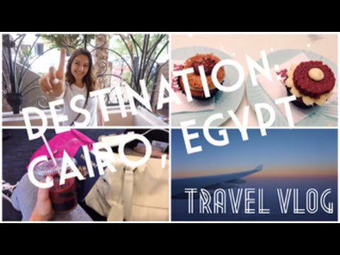 My trip to Cairo, Egypt |Food, Flights, & Appartment Tour|