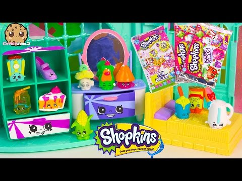 Shopkins 12 Pack Season 2 With Two Mystery Blind Bags + Collector Car + Fun Pack Cards