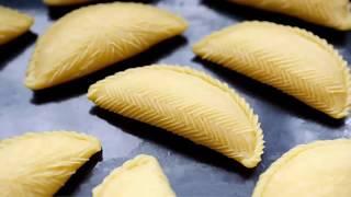 Азербайджанские сладости Шекербура.Azerbaijan sweets Shekerbura.