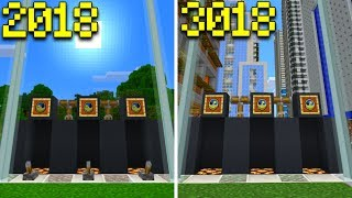 How To Make a WORKING TIME MACHINE in Minecraft PE (REALMS SMP #5)