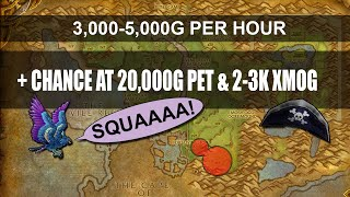 WoW Gold Guide 3-5K+/HOUR & CHANCE AT 20K PET (Patch 6.2.3 Gold Farming)