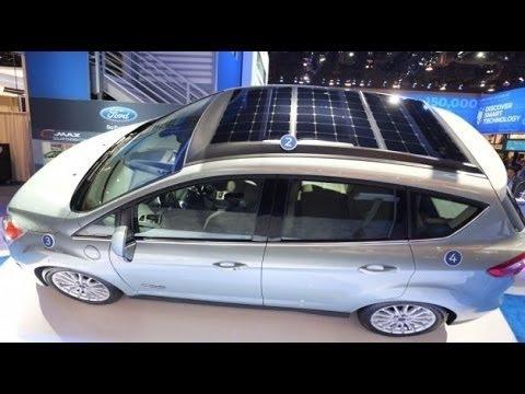 Electric Vehicle Car Solar Energy