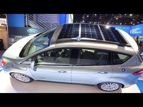 Electric Vehicle Car Solar Energy Youtube