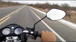 Viagem de Moto / Santa Rita-PB - São João do Cariri-PB (198km) - Titan 150 EX 2013 ( Nação Paraibana