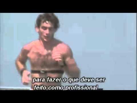 Mensagem De Ayrton Senna Sobre O Controle Da Mente E Corpo