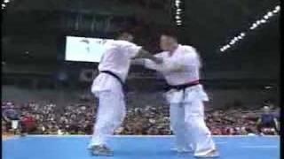 Kyokushin 1999 Final Kazumi Hajime VS Francisco Filho