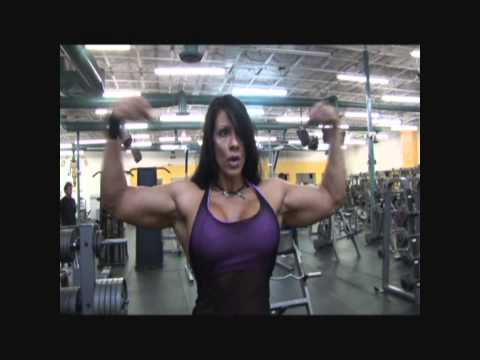 VERY VERY SEXY MUSCLE GIRL LAURIE STEELE