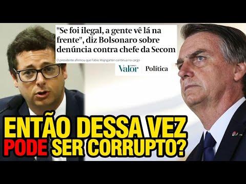 CORRUPÇÃO? COM BOLSONARO TÁ LIBERADO