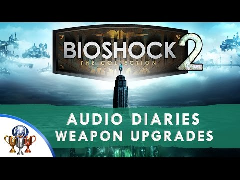 Bioshock 2 Remastered All Collectibles - All 129 Audio Diaries and 14 Weapon Upgrade Locations