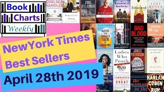 Top 10 Books to Read - FICTION & NONFICTION: New York Times Best Sellers' Chart (April 28th 2019).