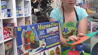 Magna-Tiles at Pufferbellies - Best Toys for Kids 2009