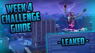 Season 6, Week 4 | Fortnite Week 4 Challenges Easy Guide (Week 4 Battle Pass) - Fortnite