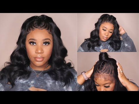 Budget Friendly!!!!  I $47 Pre-Braided 11x7 Lace Front Wig I Mayde