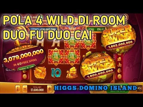 POLA ROOM DUO FU DUO CAI DENGAN 4 WILD    BANJIR SCATTER DAN SUPER WIN    HIGGS DOMINO ISLAND