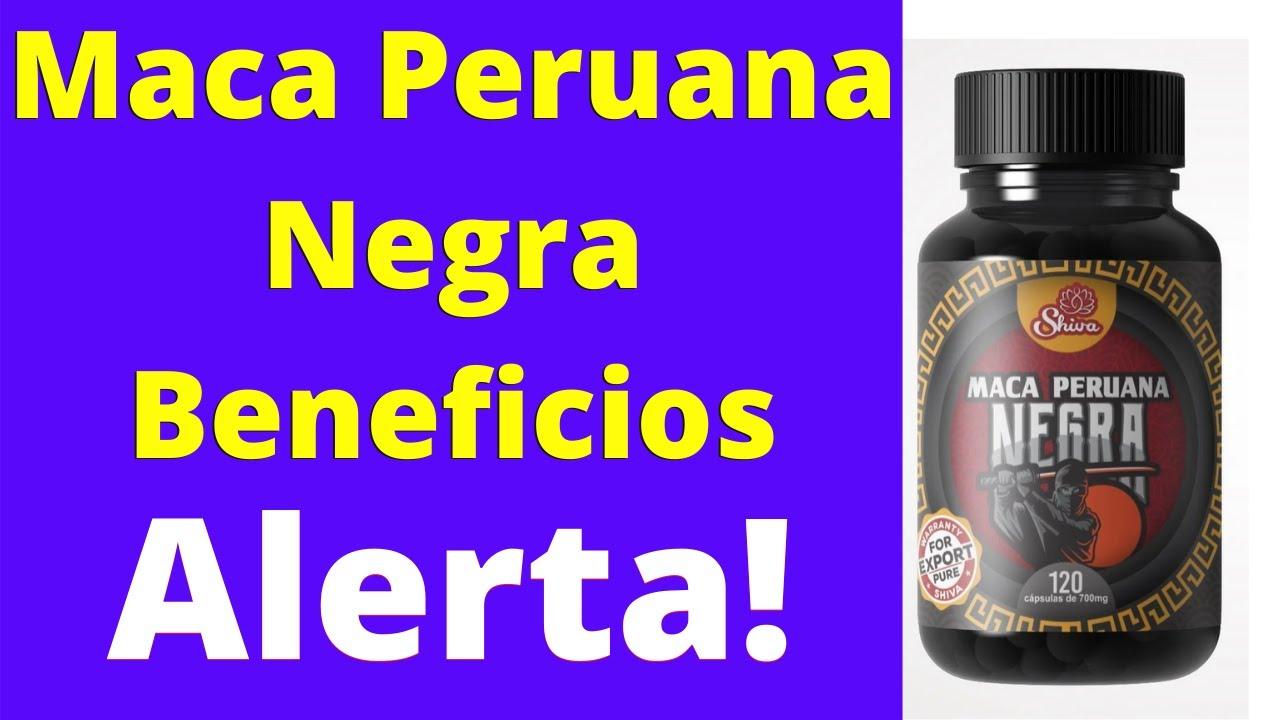 maca peruana negra ou vermelha