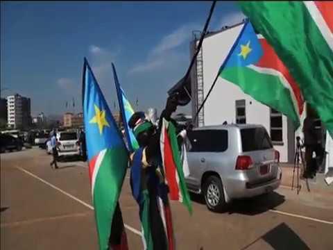 Peace in South Sudan as Riek Machar celebrates with Salva Kiir in Juba