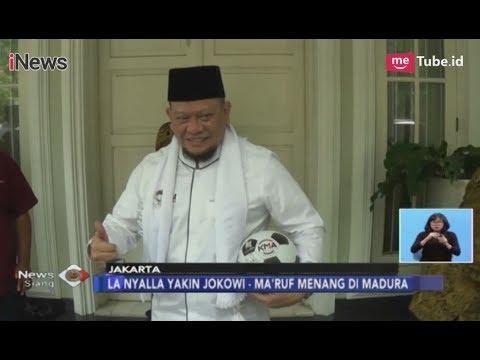 La Nyalla, Eks Ketum PSSI Siap Potong Leher Jika Prabowo-Sandi Menang Di Madura - INews Siang 12/12