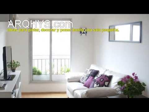 Ideas para pintar, decorar y poner bonita una sala pequeña   youtube