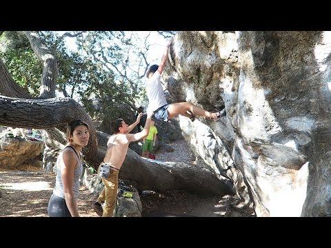 Rock climbing in Berkeley What I ate Vegan