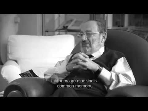 Umberto Eco, Sulla memoria. Una conversazione in tre parti, 2015. Parte 1. Regia di Davide Ferrario