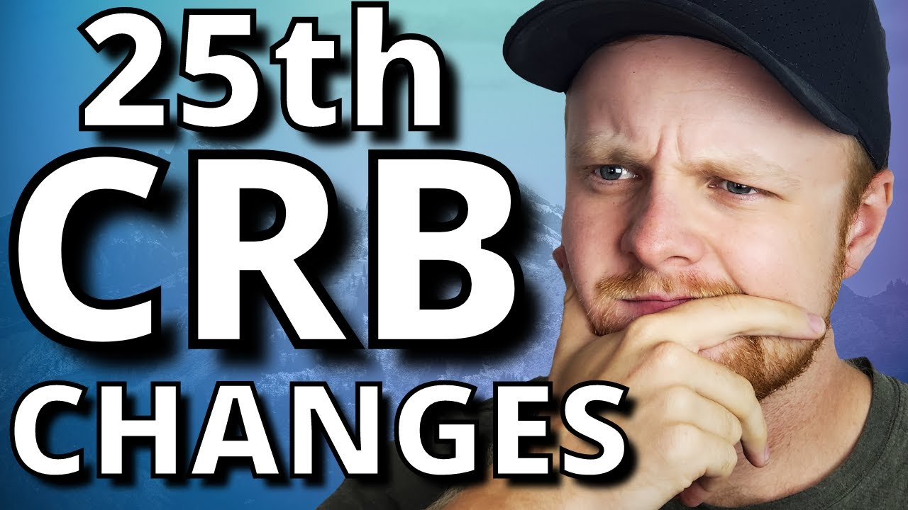 Download CRB Changes and EI Transition   25th CRB Period