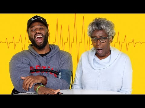 Son & His Mom Get Hooked Up to Lie Detector   Fess Up   Cut