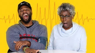 Son & His Mom Get Hooked Up to Lie Detector | Fess Up | Cut