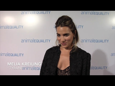 Melia Kreiling , Animal Equality 10th Anniversary