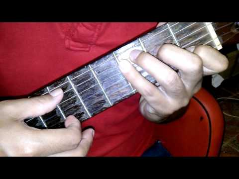 Sensación del bloque - Randy y De la Ghetto. Como tocar en guitarra. Tutorial. Guitar.
