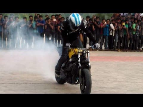 joona vatanen.freestyle stuntbiking.stuntGP.champion.burnout.wheelie.cbr600.autobahn.kerala.india.